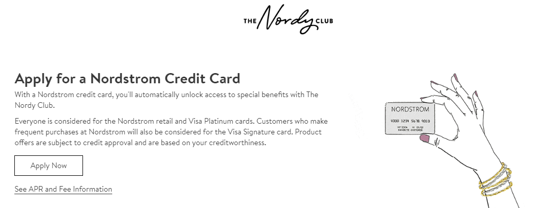 Apply for A Nordstrom Credit Card Earn Rewards