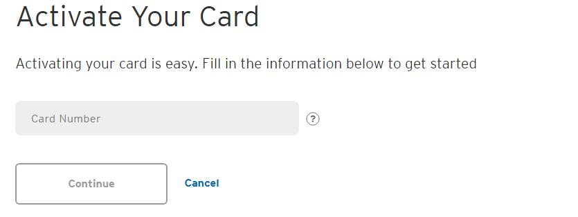 Citibank credit card Online