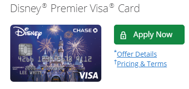 Disney Premier Credit Card Apply