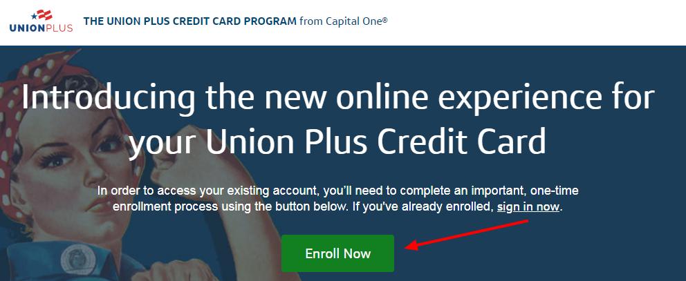 Union Plus Credit Card Activate