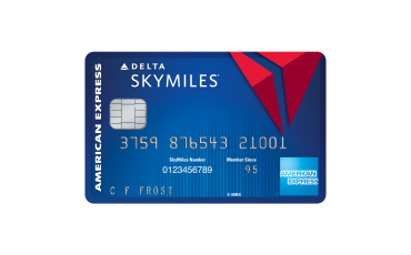 delta sky miles credit card apply