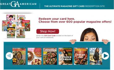American Magazine Gift Card Online