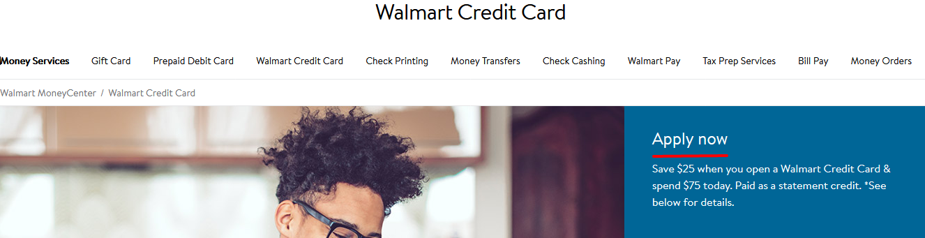 Apply Walmart Credit Card