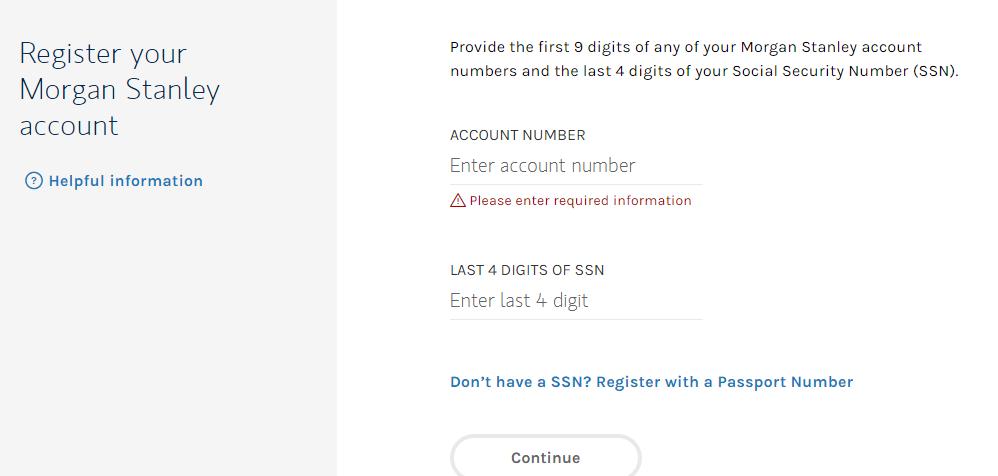 Get Access To Morgan Stanley Client Service Portal