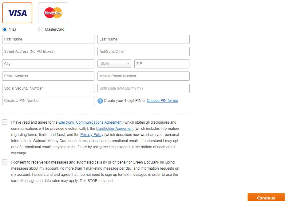 Walmart MoneyCard Apply Now