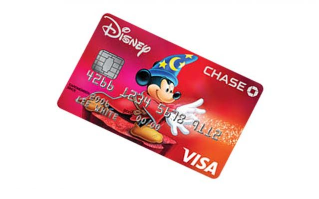 disney credit card application
