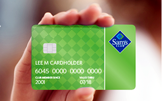 Application for Sam's club credit card
