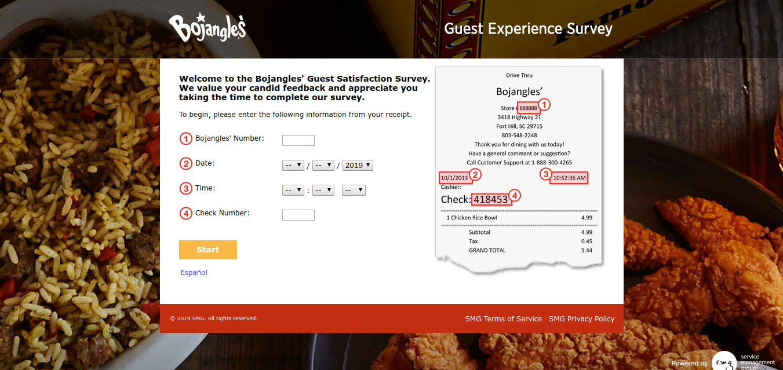 Bojangles-Guest-Experience-Survey