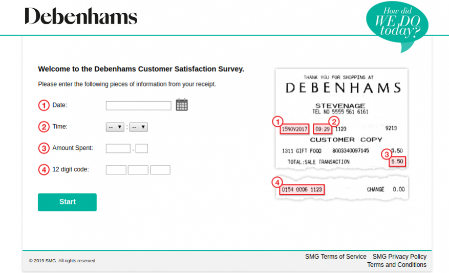 Debenhams-survey