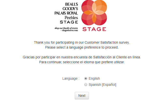 Take-The-Stage-Stores-Survey-Sweepstakes-And-Win-Prizes