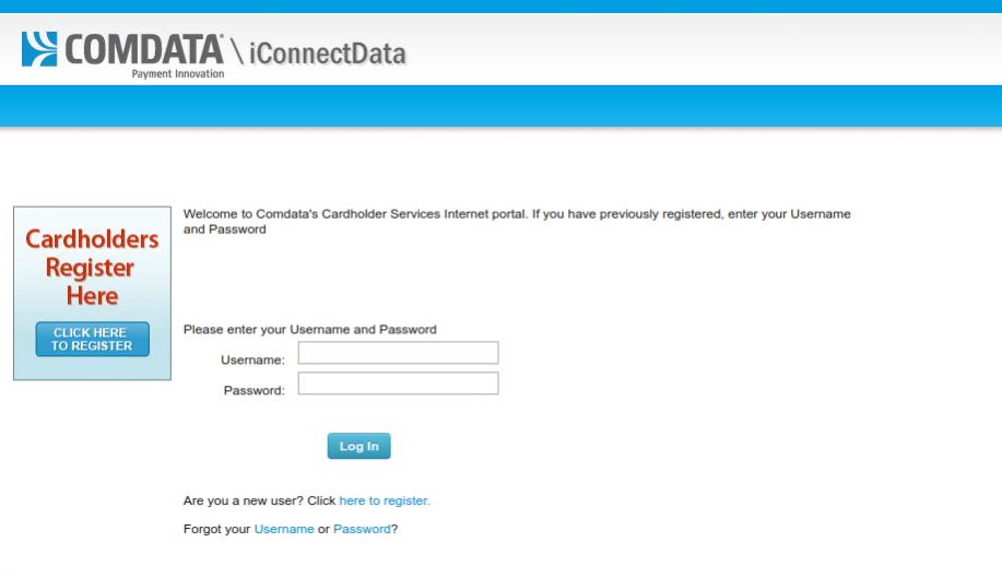 Comdata Cardholder Services Logo