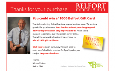 belfortfurniture survey