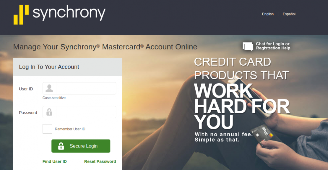 Synchrony Financial Credit Card Logo